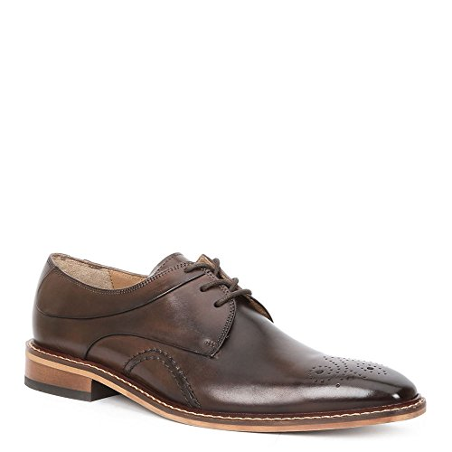 Giorgio Brutini Reddington Uomo Oxford Marrone Scuro