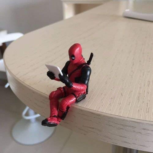 RULONG 1Pc New Deadpool Cosplay PVC Action Figure Statues Model Toys Gifts