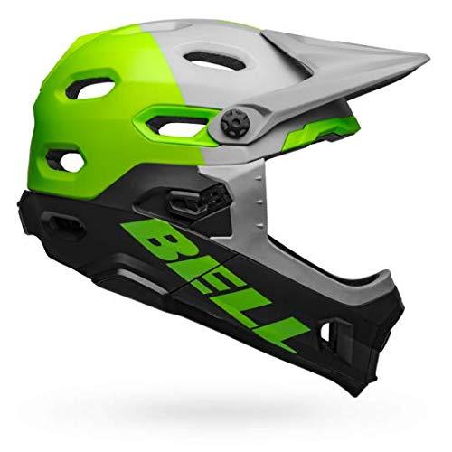 Bell Super DH MIPS Helmet Unhinged Matte/Gloss Black/Berry/Blue, L ()