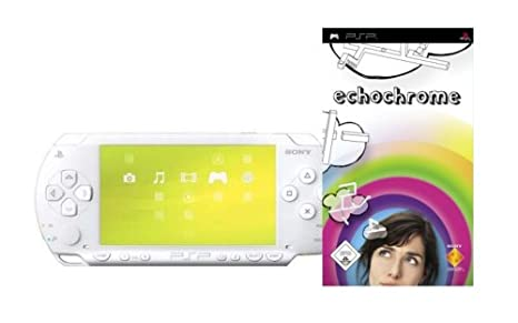 PSP - Konsole Slim&Lite Base Pack White + Echochorme Alemania DVD: Amazon.es: Cine y Series TV