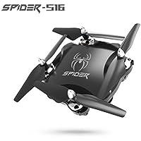 Miklan,Professional 2.4G 4CH Altitude Hold WIFI FPV RC Quadcopter Drone HD Camera (Black)