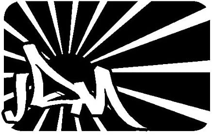 JDM Fast Bandera Flag Bitch Race Power PS JDM OEM FUN Skin Hater ...