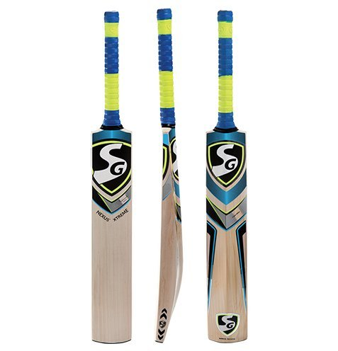 SG Nexus Xtreme English Willow Cricket Bat,Short Handle (Best Cricket Bowling Machine)