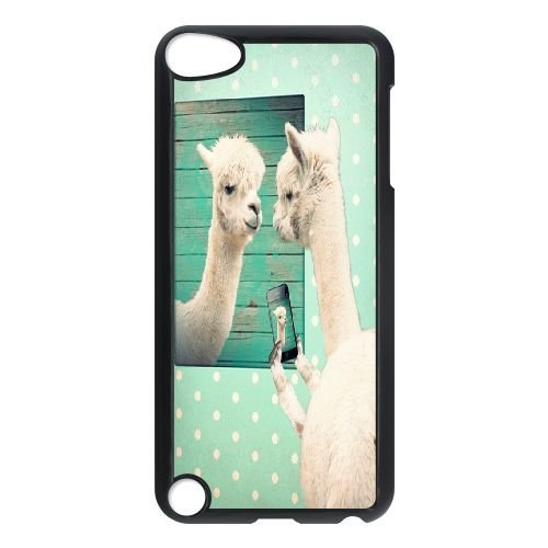 (Custom Llama Case for iPod touch5, DIY Llama Touch 5 Phone Case, Llama iPod Case Cover)