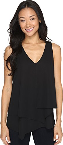 karen-kane-womens-sleeveless-layered-blouse-black-blouse