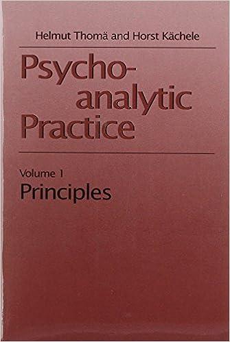 Psychoanalytic Practice (Master Work Series 2 Vols.) (v. 1) by Helmut Thoma (1994-12-01)