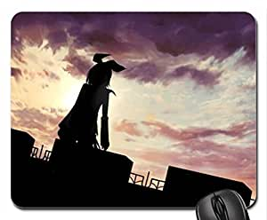 Black Volc Theme Mouse Pad, Mousepad (10.2 x 8.3 x 0.12 inches)