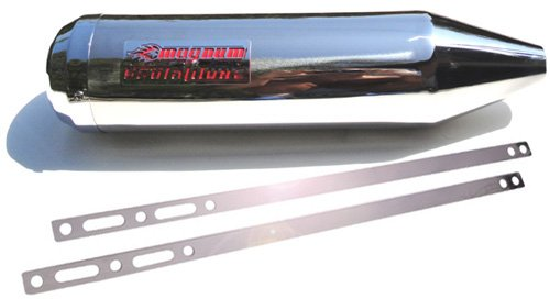 BrutaliTune SS 304 Weld-On TUNABLE Performance Exhaust Hisun Sport Strike 250 21.75 inch Long UNIVERSAL INSTALLATION by Magnum Tuning (Image #1)