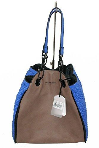 BORSA LE PANDORINE CLASSIC 2.0 DAH01937-09 SHOPPING BAGS BLU ELETTRICO