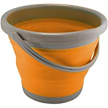 UST FlexWare 1.3 Gal, Collapsible Bucket with Strong, Flexible, Compact, BPA Free Design and Sturdy Handle for Hiking, Backpacking, Camping and Outdoor Survival