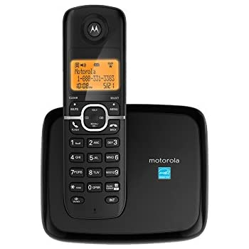 motorola 1. motorola dect 6.0 cordless phone with 1 handset and caller id l601m r