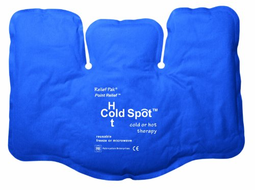 Relief Pak 11-1298 Cold and Hot Fabric Compress, Tri-Sectional, 8