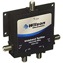 weBoost 75  4 Port 700-2700 MHz Splitter with F Female Connectors - Retail Packaging