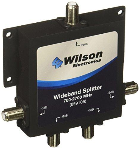 Wilson Electronics -6 dB 4-Way Splitter, F-Female (75 Ohm)