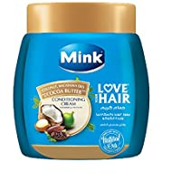 Mink Love Your Hair Conditioning Cream with Coconut, Macadamia Oils and Cocoa Butter - 1 kg