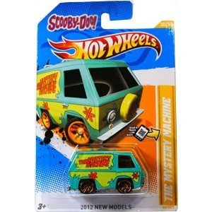 SCOOBY-DOO! THE MYSTERY MACHINE Hot Wheels 2012 New Models Series #38/50 - Collectible Die Cast Car by TY-P2C