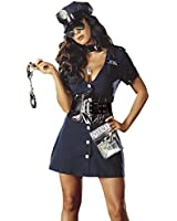 Corrupt Cop Sexy Police Officer Costume Law Enforcement Halloween