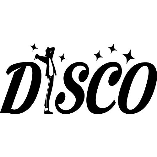 Family-decal Decals Stickers Wall Words Sayings Removable Lettering Apple Disco Figure for Car Laptop Sticker -
