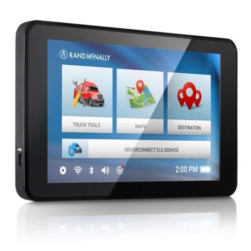 Rand McNally TND 740 IntelliRoute Truck Navigation GPS with 7'' HD Vibrant Display by Rand McNally