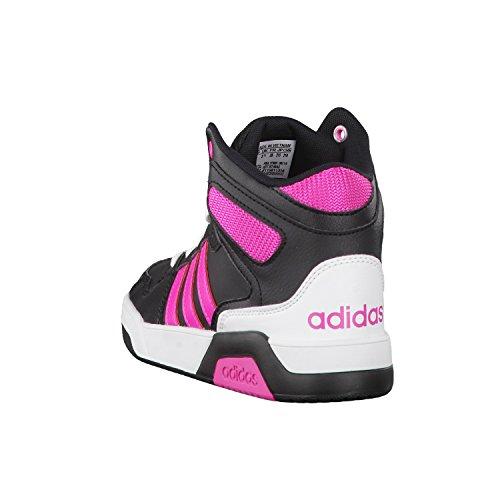 adidas NEO Kinder Sneaker BB9TIS MID K core black/shock pink s16/ftwr white 34