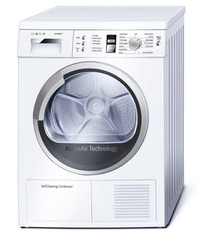 Bosch WTW86380FF Libera installazione Carica frontale 7kg A Bianco asciugatrice