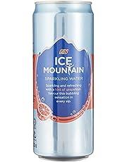 Ice Mountain Sparkling Water Grapefruit, 24 x 325ml