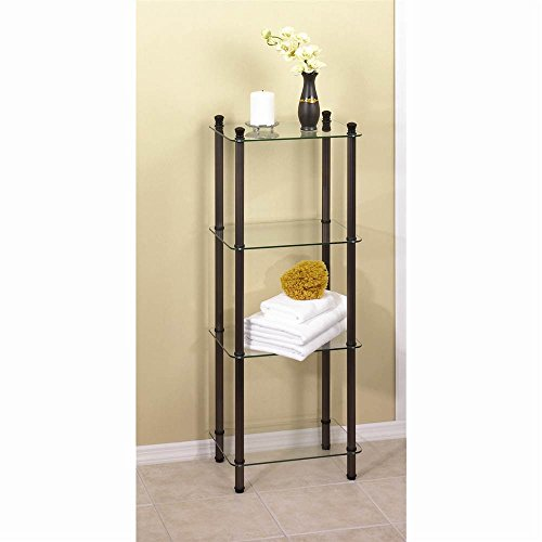 f Oil Rubbed Bronze Tower L'Etagere ()