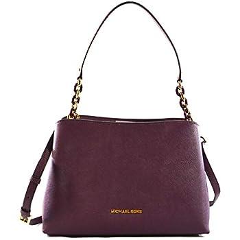 be488d56ae4f MICHAEL Michael Kors Sofia Large East West Saffiano Leather Satchel  Crossbody Bag Purse Tote Handbag