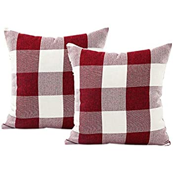 Amazon Com Bestjybt Buffalo Check Plaids Throw Pillow