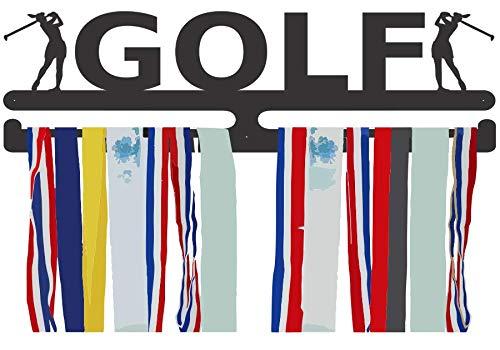 Womens Golf Medal Hanger - Female Golf Award Display