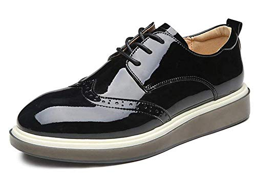colore Mostrato The Dimensione Nero Taglia Leisure Come Mostrato 38 British Shoes Fuxitoggo Unica YOTd7x7