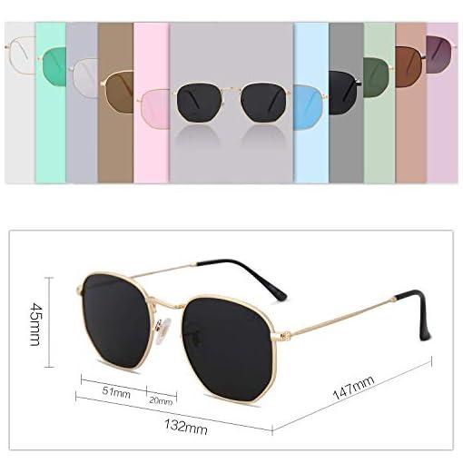 Men/'s /& Women/'s Mirrored Sunglasses HD Polarized UV400 Travel Hiking Square Gift