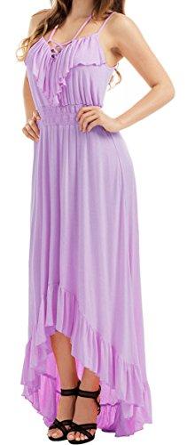 Wood Bead Maxi Dress - 6