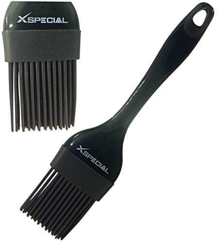 Amazon.com : XSpecial Cooking Brush [Basting Silicone Heat Resistant Bristles] Best Chef Kitchen Utensil for Cake, Barbecue, Pastry, Baster, ...