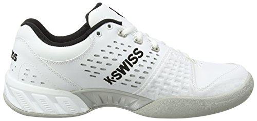 White Bigshot LTR Blanc Chaussures Silver de EU Performance Swiss Carpet Homme K Black Light Tennis TFPggS