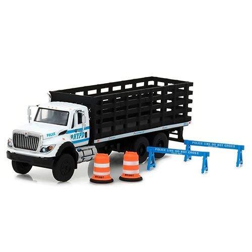S.d. Trucks Serie 3 1/64 Greenlight Preto E Branco