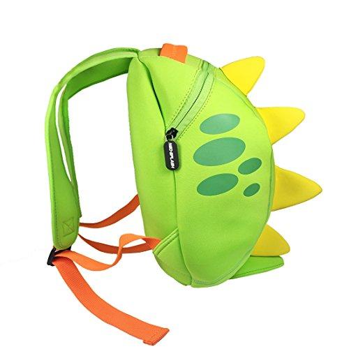 NEO SPLASH Waterproof Neoprene 3D Kids Backpack, Cute Animal Bag for Preschool Toddler Kindergarten Children Gift - Let Tool Swim It