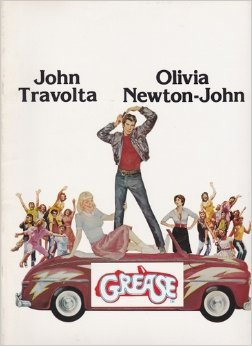 Grease 1978 original movie program -NOT A DVD-