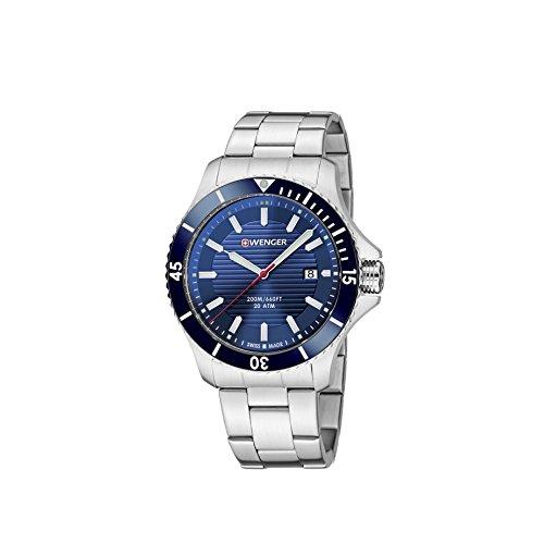 Watch-WENGER-010641120-Men-Silver