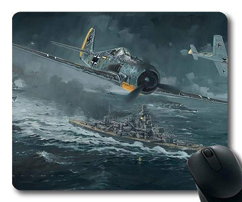 Price comparison product image World war Aircraft,Large Gaming Mouse Pad,Fighter Generation,Mouse Pad with Stitched Edges