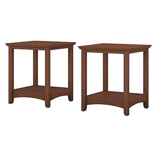 Bush Furniture Buena Vista End Tables Set of 2 in Serene (Cherry Mission End Table)