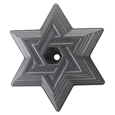 Nordic Ware Bundt Bakeware Cast Aluminum Nonstick Star of David Bundt Pan