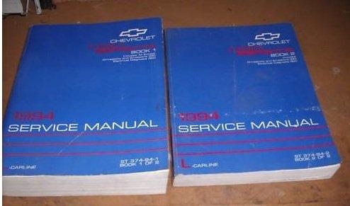 1994 Chevrolet Chevy Corsica Service Shop Manual Set (2 volume set)