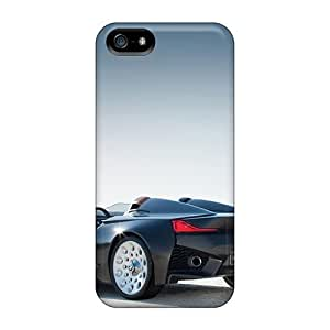Protective Tpu Cases With Fashion Design For Iphone 5/5s (salt Flat Bmw)