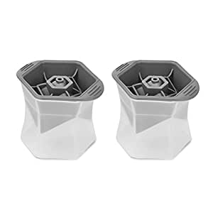 Riverbyland Silicone ABS Ice Cube Trays Set of 2