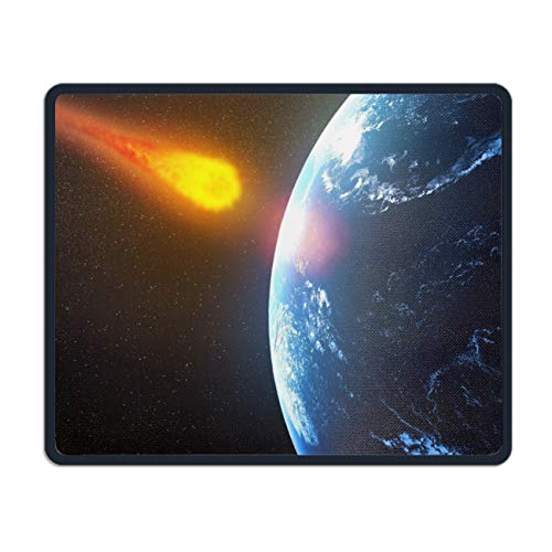Giant Asteroid to Pass Earth in Time for Halloween Mouse Pad Stylish Non-Slip Rubber Mousepad for Gaming ()