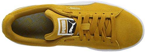 Sneaker puma puma White Buckthorn Braun 31 Unisex Classic White Brown Puma Erwachsene Suede Txqv4wpI