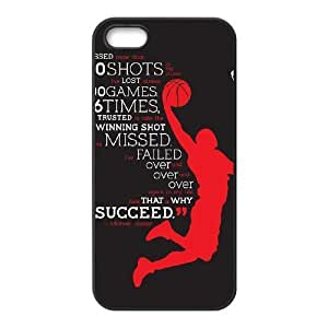 Motivational Quotes iPhone 5,5S Case Black Yearinspace005456