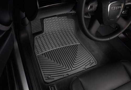 WeatherTech - W32 - 2002-2009 Chevy TrailBlazer Black All Weather Floor Mats 1st Row