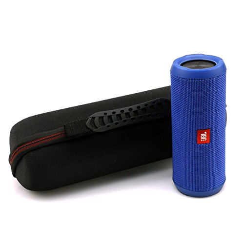 LTGEM Case for JBL Flip 3 or JBL Flip 4 Wireless Bluetooth Portable Speaker. Fits USB Cable and Wall Charger